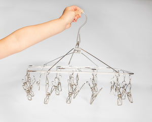 NEW - Clothes Peg Hanger