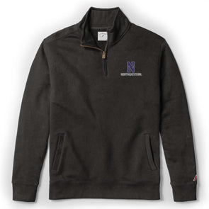 Northwestern Wildcats Men's  Stadium Quarter Zip-Black