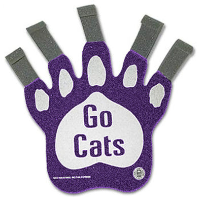 Northwestern Wildcats Go Cats Hand Claw