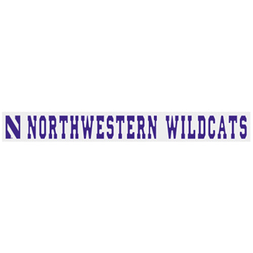Northwestern Wildcats Wildcat Window Decal