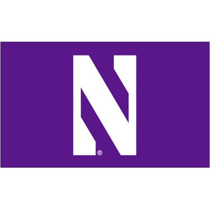 Northwestern Wildcats 2' X 3' N Flag