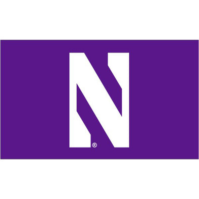 Northwestern Wildcats 3' X 5' N Flag