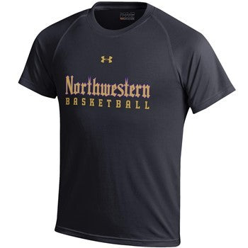 Northwestern Wildcats Under Armour®Adult Gothic Basketball T-Shirt