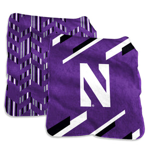 Northwestern Wildcats Super Plush Blanket