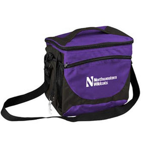 Northwestern Wildcats 24 Can Cooler