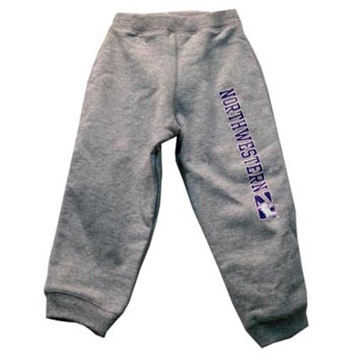 Northwestern Wildcats Grey Toddler Sweatpants