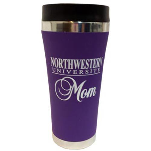 Northwestern Wildcats Mom Travel Tumbler