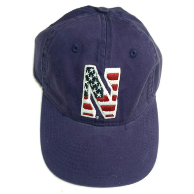 Northwestern Wildcats Purple Patriot Cap