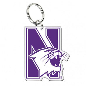 Northwestern Wildcats Premium Acrylic Key Ring