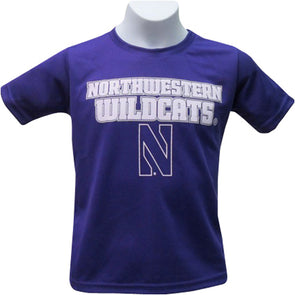 Northwestern Wildcats Youth Fitness T-Shirt