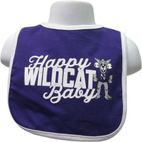 Northwestern Wildcats Happy Baby Bib