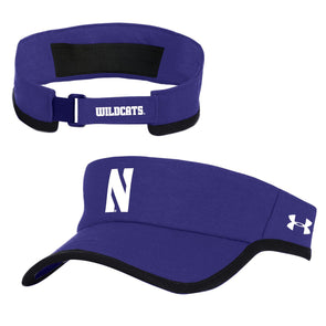 Northwestern Wildcats Under Armour Isochill Visor-Purple