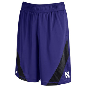 Northwestern Wildcats Under Armour® Microstripe Performance Shorts - Purple