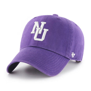 Northwestern Wildcats Old School Purple Clean Up