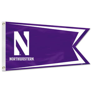 Northwestern Wildcats Yacht/Boat Flag