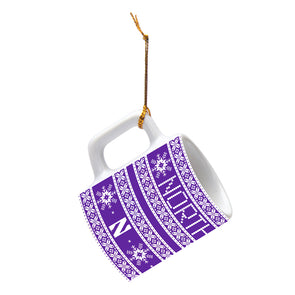 Northwestern Wildcats Impact Mini-Mug Ornament