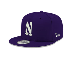 Northwestern University Wildcats New Era Purple Snapback Hat