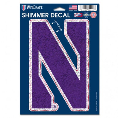 Northwestern Wildcats Shimmer Decal