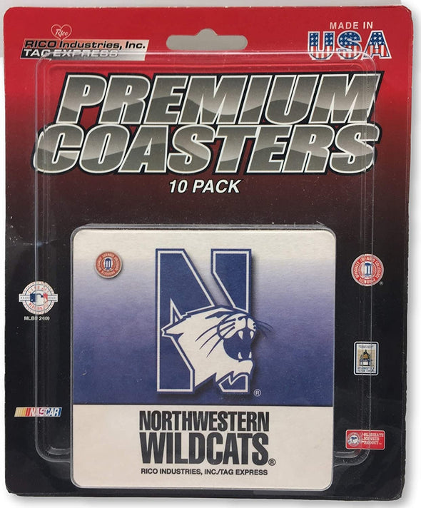 Northwestern Wildcats Premium Coasters