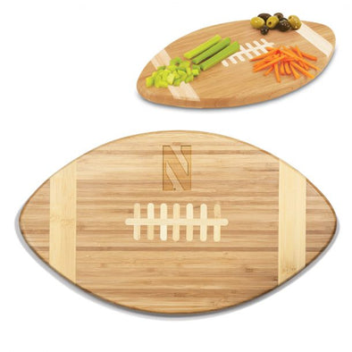 Northwestern Wildcats Touchdown Cutting Board