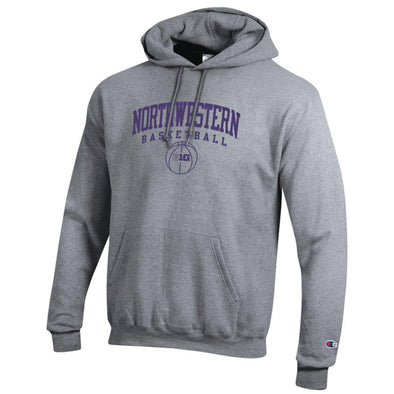 Northwestern Wildcats Big Ten Basketball Hoodie