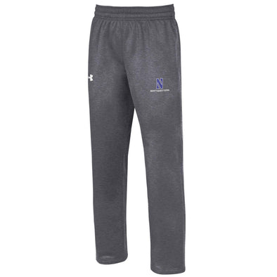 Northwestern Wildcats Under Armour® Grey Fleece Sweatpant