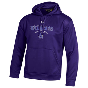 Northwestern Wildcats Under Armour® Laces Football Hoodie