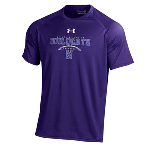 Northwestern Wildcats Under Armour® Laces Football T-Shirt
