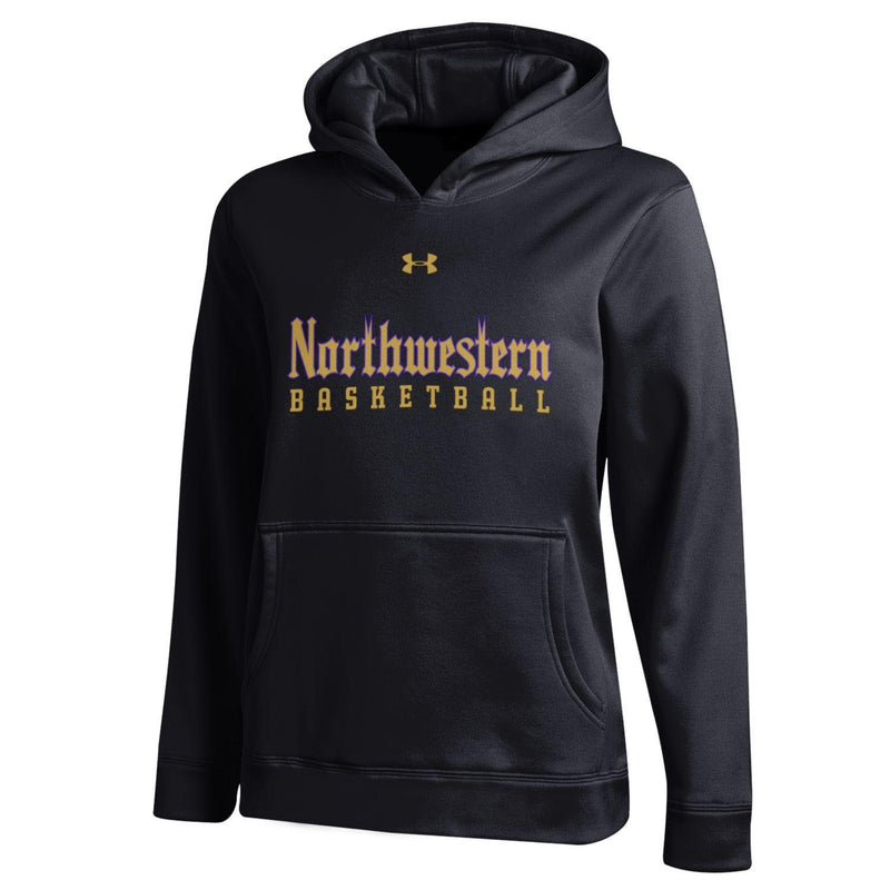 Northwestern Wildcats Under Armour® Youth Gothic Basketball Hoodie