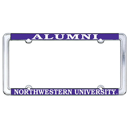 Northwestern Wildcats Alumni License Plate Frame