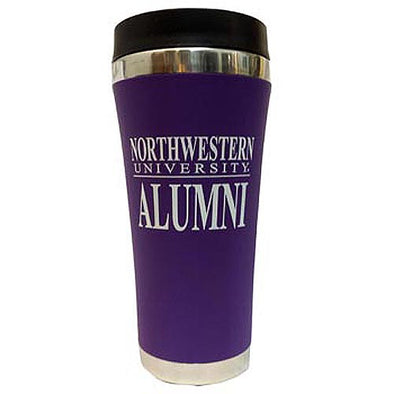 Northwestern Wildcats Alumni Travel Tumbler