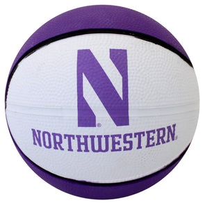 Northwestern Wildcats Deluxe Rubber Full - Size Basketball