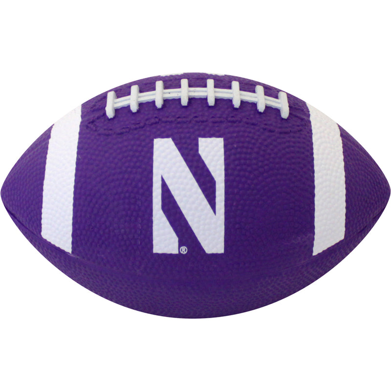 Northwestern Wildcats Mini Rubber Football