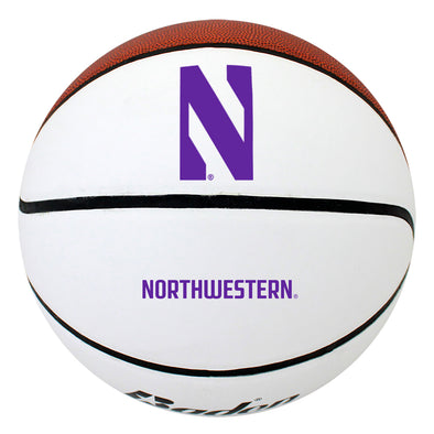 Northwestern Wildcats Autograph Basketball