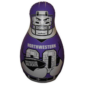 Northwestern Wildcats Tackle Buddy Bop Bag