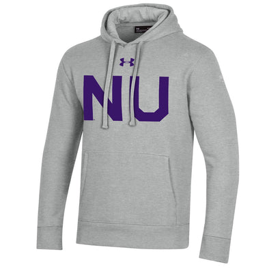 Northwestern Wildcats Under Armour College Football 150th Anniversary Retro Grey Hood