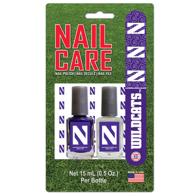 Northwestern Wildcats Nail Care Kit