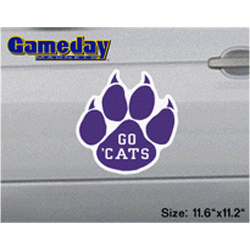 Northwestern Wildcats Go Cats Gameday Magnet