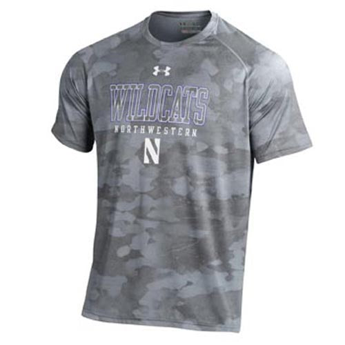 Northwestern Wildcats Under Armour® Bark T-Shirt