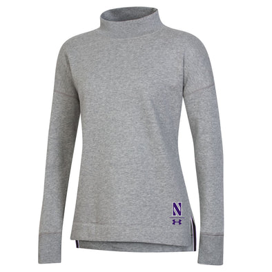 Northwestern Wildcats Under Armour Women's  Campus Fleece Crew
