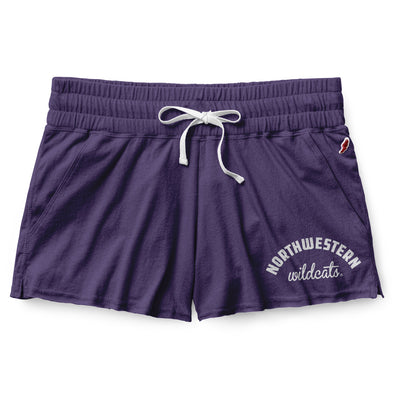 Northwestern Wildcats Women's Clothesline Shorts