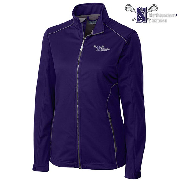 Northwestern Wildcats Cutter & Buck Women's Lacrosse Jacket