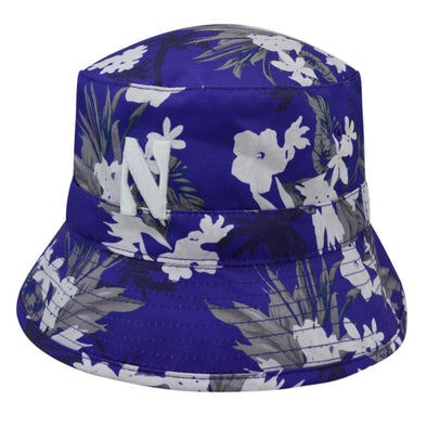 Northwestern Wildcats Pacific Beach Floppy Hat