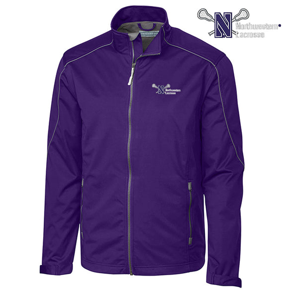 Northwestern Wildcats Cutter & Buck Men's Lacrosse Jacket