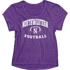 Northwestern Wildcats Women's Overtime T-Shirt
