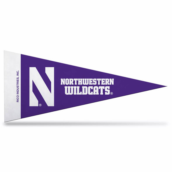 Northwestern Wildcats Mini Northwestern Pennant