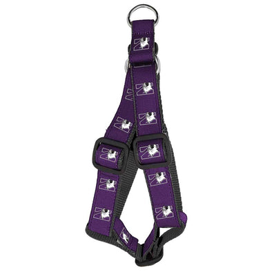 Northwestern Wildcats Dog Step-In Harness