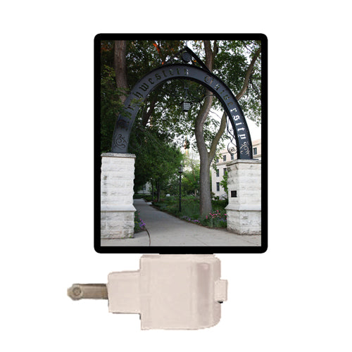 Northwestern Wildcats Northwestern Arch Night Light