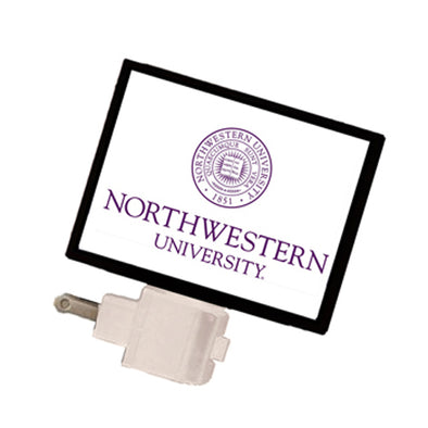 Northwestern Wildcats School Seal Night Light