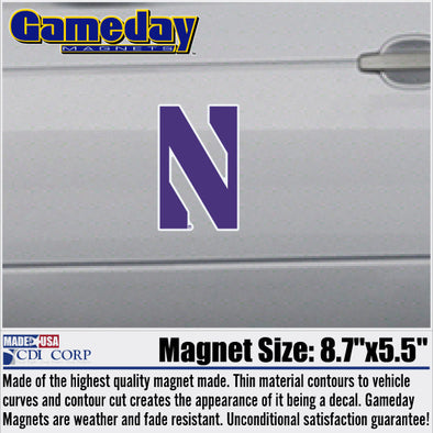 Northwestern Wildcats Gameday Magnet-Regular Size